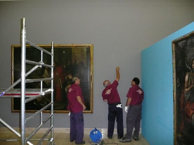 exposiciones de obras de arte